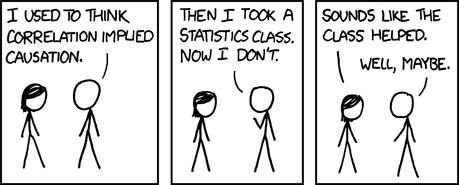 xkcd - correlation